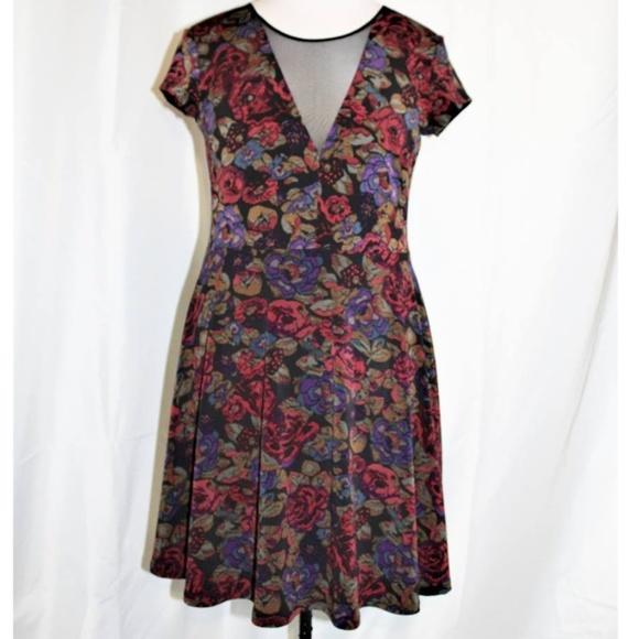 b30b1318f6e3 Kimchi Blue Dresses | Urban Outfitters Floral Skater Dress | Poshmark